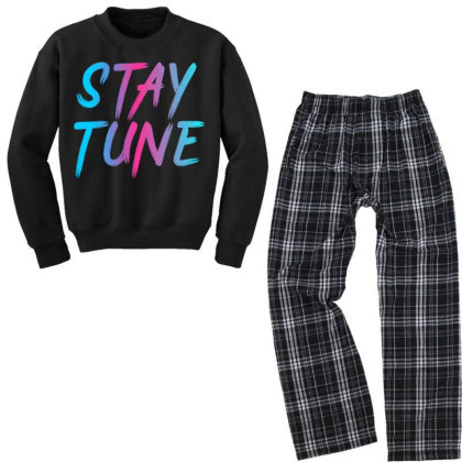 Stay Tune Youth Sweatshirt Pajama Set Designed By Prabhat_creation