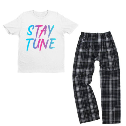 Stay Tune Youth T-shirt Pajama Set Designed By Prabhat_creation