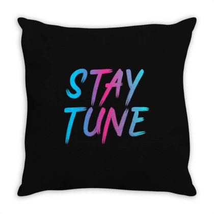 Stay Tune Throw Pillow Designed By Prabhat_creation