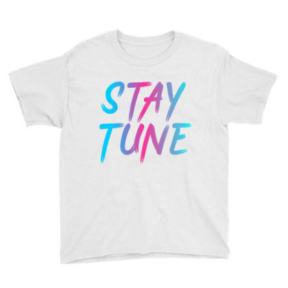 Stay Tune Youth Tee Designed By Prabhat_creation