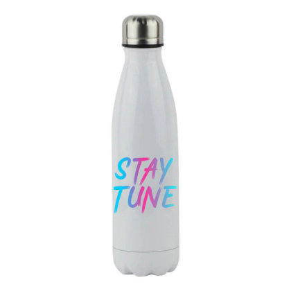 Stay Tune Stainless Steel Water Bottle Designed By Prabhat_creation