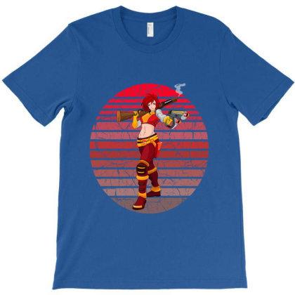 Female Warrior T-shirt Designed By Redline77