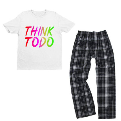 Think To Do Youth T-shirt Pajama Set Designed By Prabhat_creation