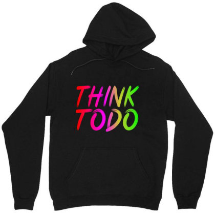 Think To Do Unisex Hoodie Designed By Prabhat_creation