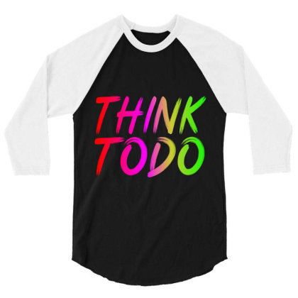 Think To Do 3/4 Sleeve Shirt Designed By Prabhat_creation