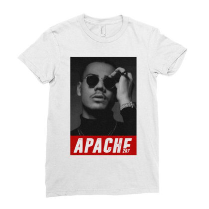 Apache 207 Ladies Fitted T-shirt Designed By Coolkids