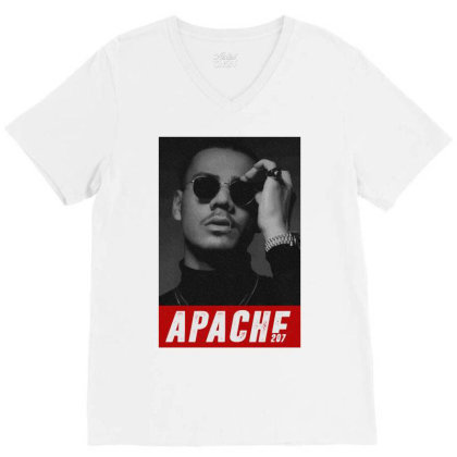 Apache 207 V-neck Tee Designed By Coolkids