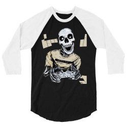 yeezy 350 v2 core black white matching 3/4 Sleeve Shirt | Artistshot