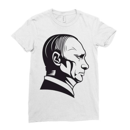 Putin Ladies Fitted T-shirt Designed By Estore