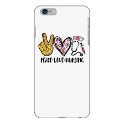 peace love nursing iPhone 6 Plus/6s Plus Case | Artistshot