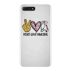 peace love nursing iPhone 7 Plus Case | Artistshot