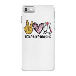 peace love nursing iPhone 7 Case | Artistshot
