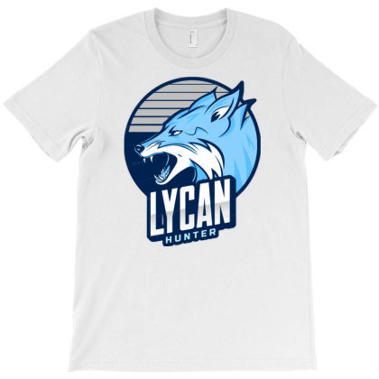 Lycan Hunter T-shirt Designed By Scissor Hands