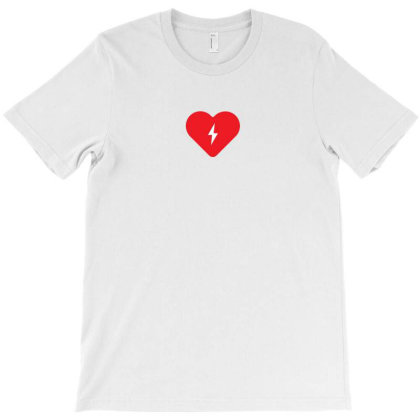Electric Heart T-shirt Designed By Encip