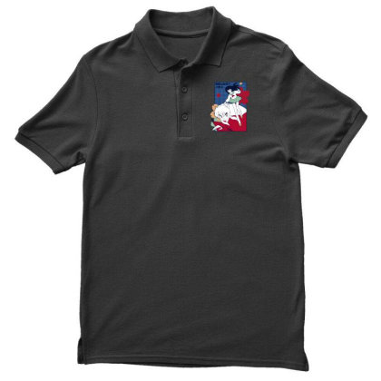 Inuyasha Men's Polo Shirt Designed By Paísdelasmáquinas