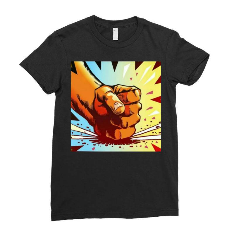 Slams Ladies Fitted T-shirt | Artistshot