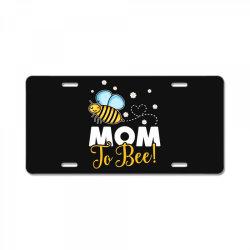 mom to bee baby boy License Plate | Artistshot