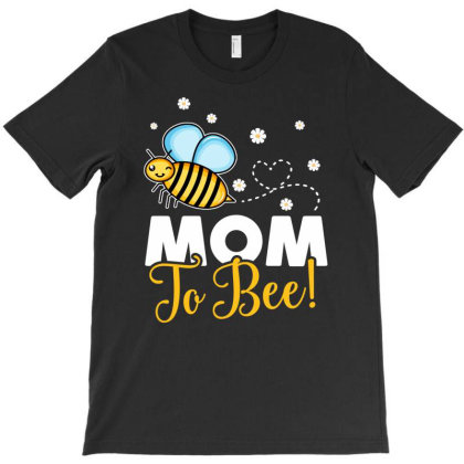 Mom To Bee Baby Boy T-shirt Designed By Honeysuckle