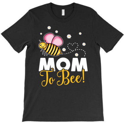 Mom To Bee Baby Girl T-shirt Designed By Honeysuckle