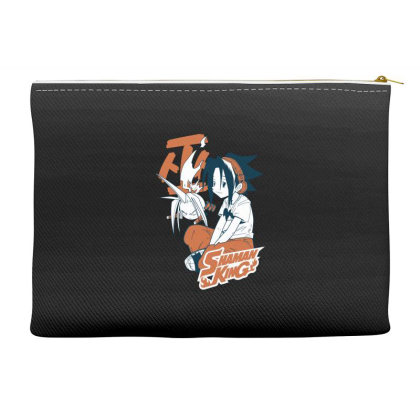 Shaman King Kanji Accessory Pouches Designed By Paísdelasmáquinas