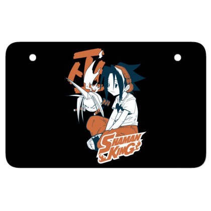 Shaman King Kanji Atv License Plate Designed By Paísdelasmáquinas