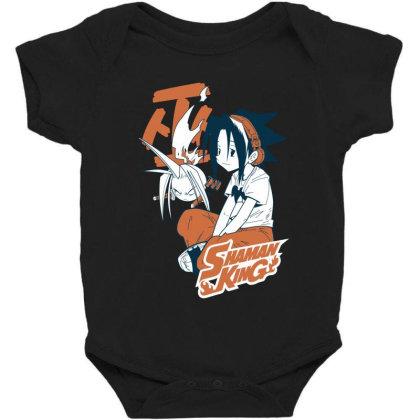 Shaman King Kanji Baby Bodysuit Designed By Paísdelasmáquinas