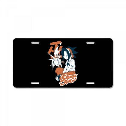 Shaman King Kanji License Plate Designed By Paísdelasmáquinas