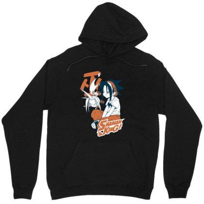 Shaman King Kanji Unisex Hoodie Designed By Paísdelasmáquinas