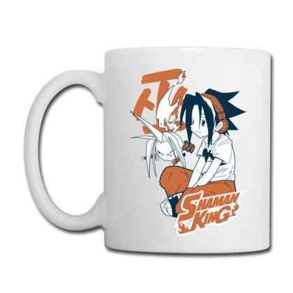 Shaman King Kanji Coffee Mug Designed By Paísdelasmáquinas