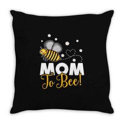 mom to bee neuter Throw Pillow | Artistshot
