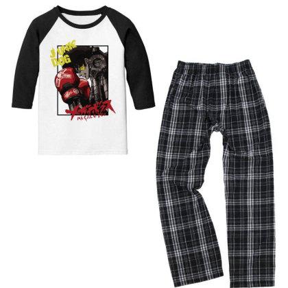 Megalobox Youth 3/4 Sleeve Pajama Set Designed By Paísdelasmáquinas