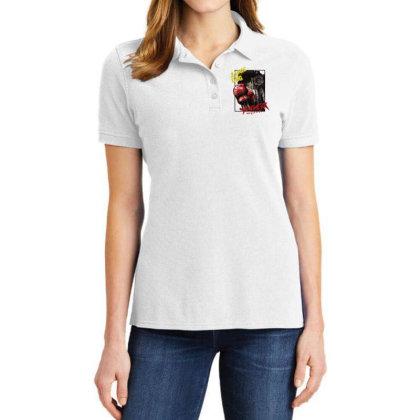 Megalobox Ladies Polo Shirt Designed By Paísdelasmáquinas