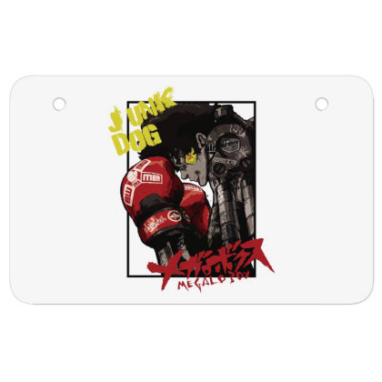 Megalobox Atv License Plate Designed By Paísdelasmáquinas