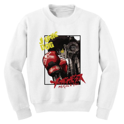 Megalobox Youth Sweatshirt Designed By Paísdelasmáquinas