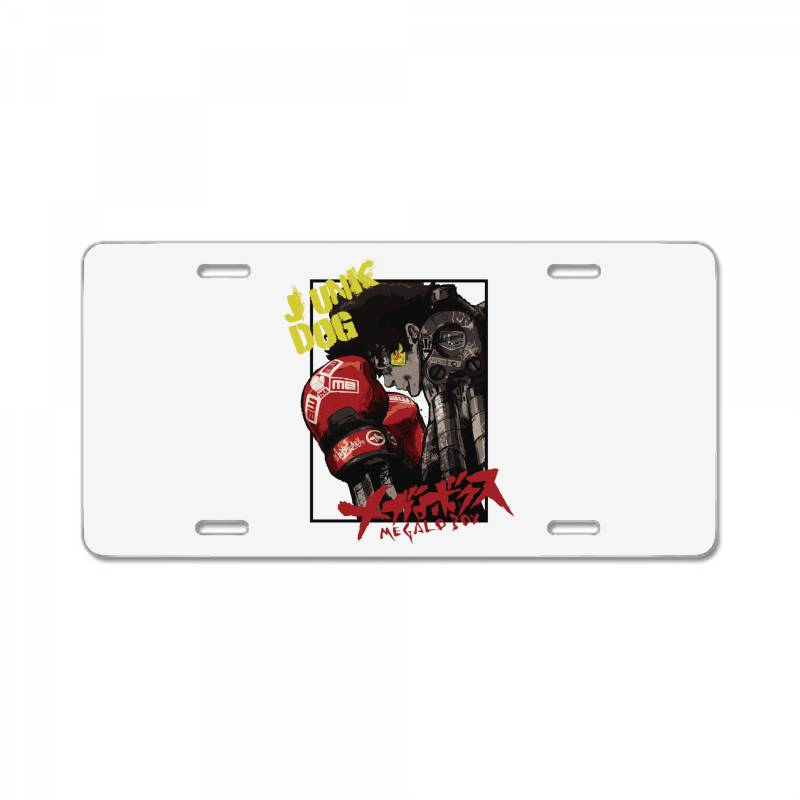 Megalobox License Plate | Artistshot