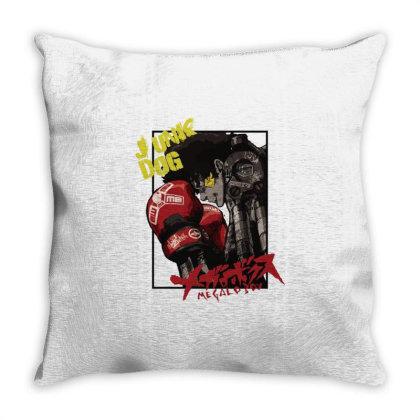 Megalobox Throw Pillow Designed By Paísdelasmáquinas