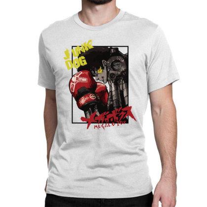 Megalobox Classic T-shirt Designed By Paísdelasmáquinas