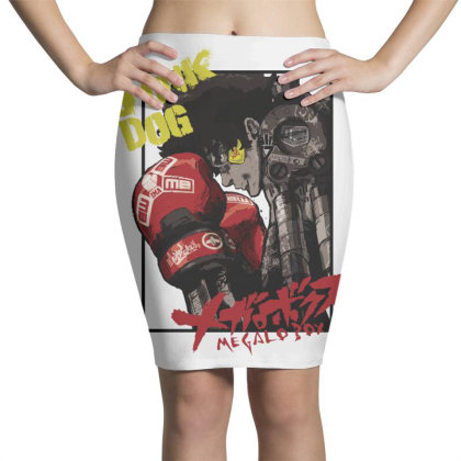 Megalobox Pencil Skirts Designed By Paísdelasmáquinas