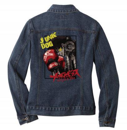 Megalobox Ladies Denim Jacket Designed By Paísdelasmáquinas