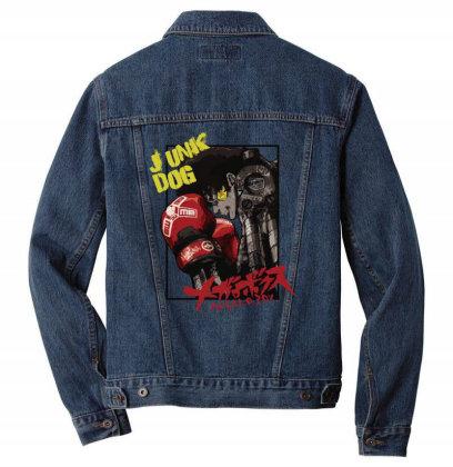 Megalobox Men Denim Jacket Designed By Paísdelasmáquinas