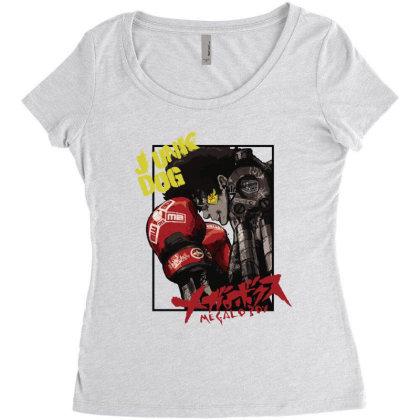 Megalobox Women's Triblend Scoop T-shirt Designed By Paísdelasmáquinas