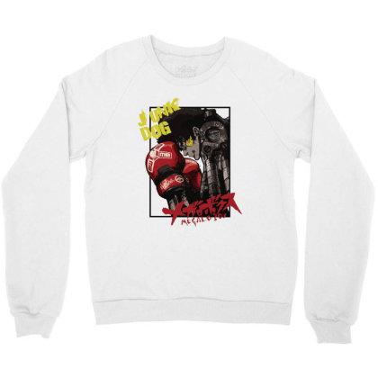 Megalobox Crewneck Sweatshirt Designed By Paísdelasmáquinas