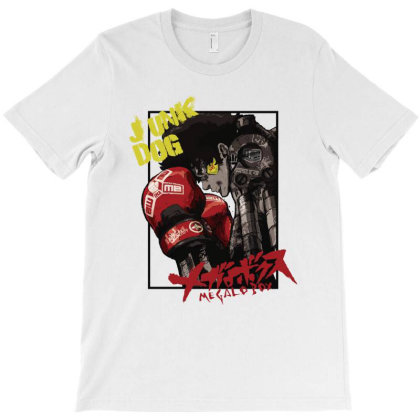 Megalobox T-shirt Designed By Paísdelasmáquinas