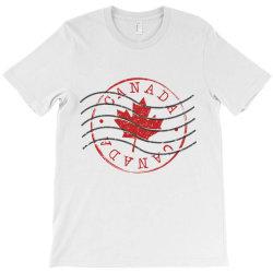 canada stamp T-Shirt | Artistshot