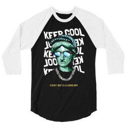 new york liberty statue 3/4 Sleeve Shirt | Artistshot