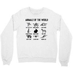 animals of the world for light Crewneck Sweatshirt | Artistshot