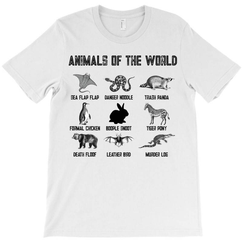 Animals Of The World For Light T-shirt | Artistshot
