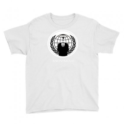 Anonymous Group Occupy Hacktivist Pipa Sopa Acta   V For Vendetta Youth Tee Designed By Mdk Art