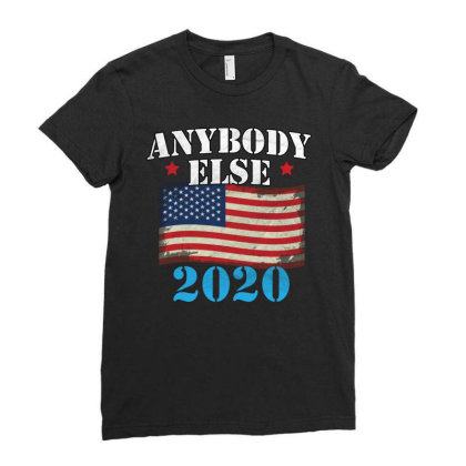 Anybody Else 2020 Ladies Fitted T-shirt Designed By Cogentprint