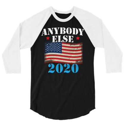 Anybody Else 2020 3/4 Sleeve Shirt Designed By Cogentprint